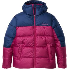 Marmot Guides Dunjakke Damer, pink/blå